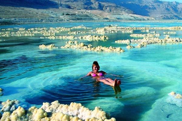 Мертвое море - натуральная солевая ванна