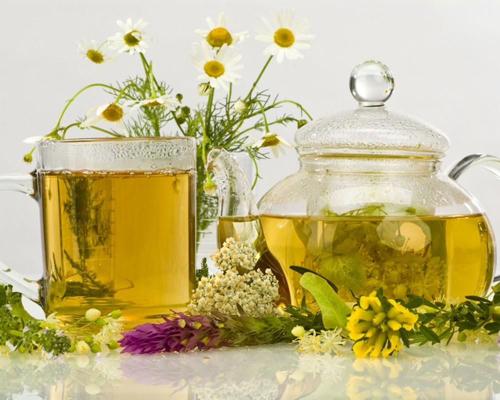 Чай со зверобоем и другими травами