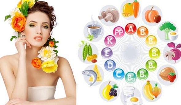 Витамины и микроэлементы для волос