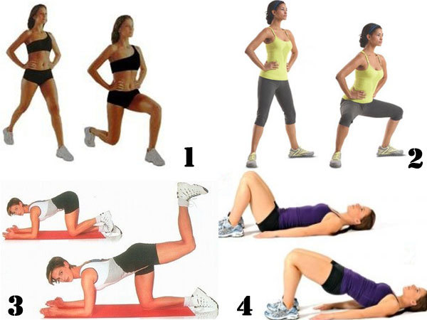 Как похудели ноги в домашних условиях