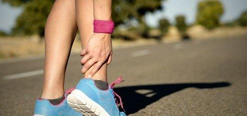 Растяжение связок при занятии спортом