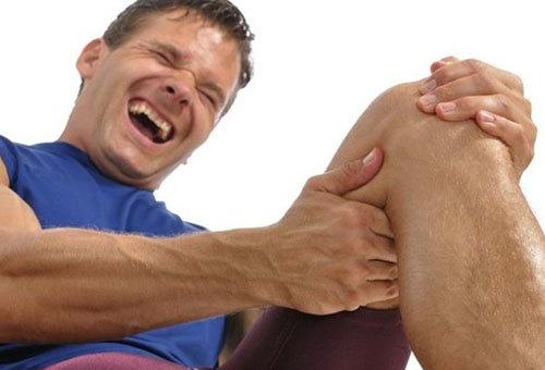 Боль как симптом растяжения связок