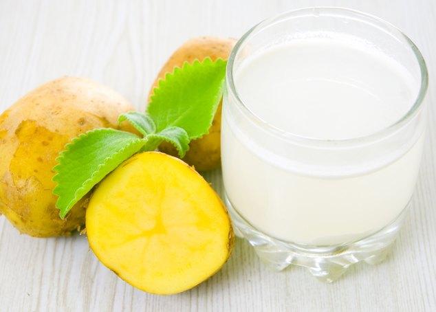 Сок картофеля при эрозии пищевода