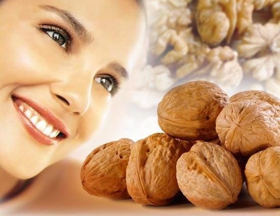 Применение грецких орехов в косметологии