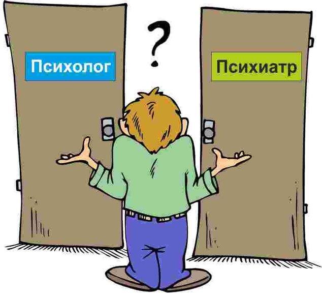 Разница психиатр психолог, психотерапевт
