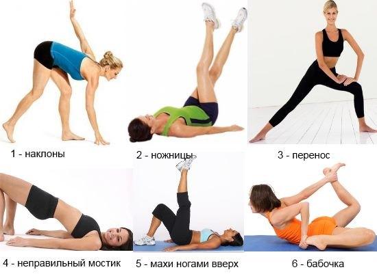 Упражнения при целлюлите
