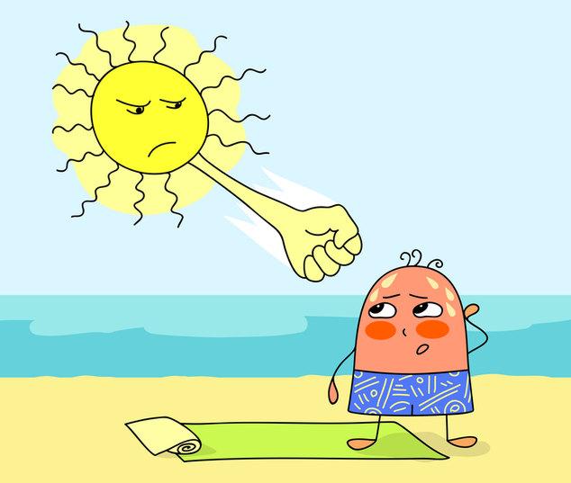 Sunstroke; Солнечный удар