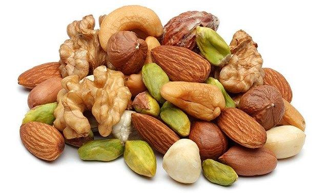 орехи от стресса