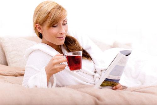 Травяной чай при нервном истощении